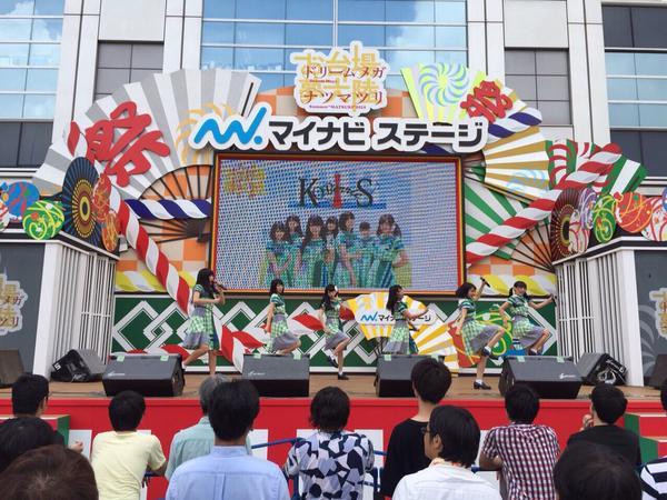 2015年8月12日 東京 お台場夢大陸マイナビステージ、HMV横浜ワールドポーターズ(動画なし)