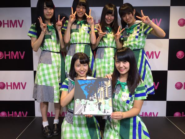 2015年8月22日 東京 HMV エソラ池袋店でリリースイベント