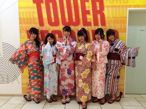 2015年8月26日 ミント神戸2Fデッキでリリースイベント