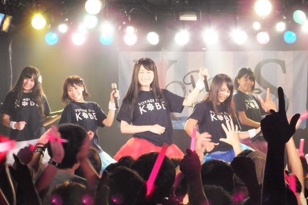 2015年8月30日 神戸北野 SLOPEでワンマンライブVoyage!3 巽万柚菜卒業(動画あり)