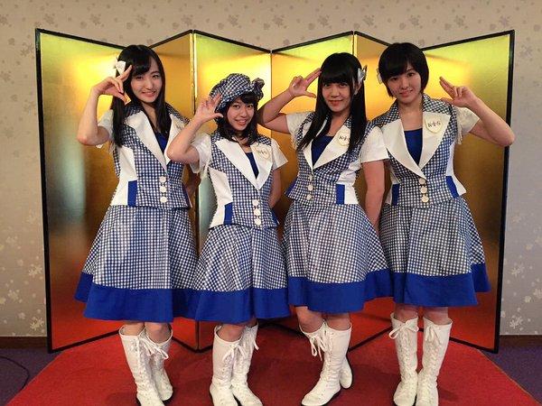 2016年1月3日 コウベリ生田神社にて新曲ヒット祈願&新衣装お披露目