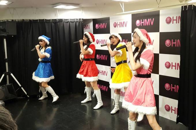 HMV 三宮KOBerrieS ♪1部スタート! https://t.co/CYkjfWdASG