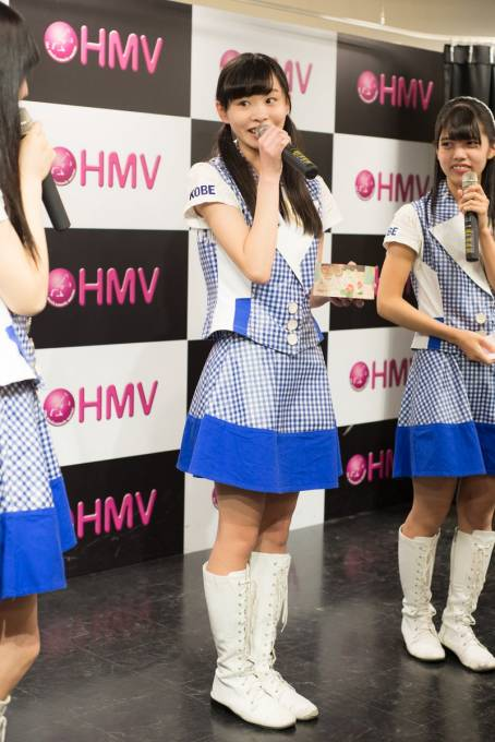 20170107 HMV三宮 KOBerrieS♪ 大出姫花 さん  #KOBerrieS #神戸 https://t.co/fnzdpABUUG