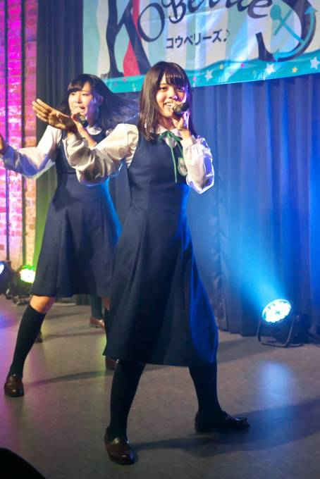 KOBerrieS♪『F or L』リリースイベント!より(2018/3/4 神戸煉瓦倉庫 K-wave)(1/2) #KOBerrieS♪ #森島みなみ さん #岡野春香 さん #花城沙弥 さん https://t.co/qvDhc3nt3h