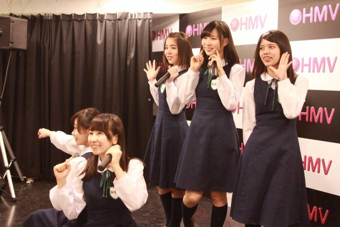 HMV三宮KOBerrieS♪新曲リリースイベント! #KOBerrieS https://t.co/ufMVwA6w37