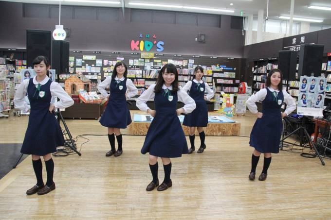 TUTAYA徳島田宮店新曲「F or L」リリースイベントKoberries♪ #Koberries https://t.co/dyD22vG92L