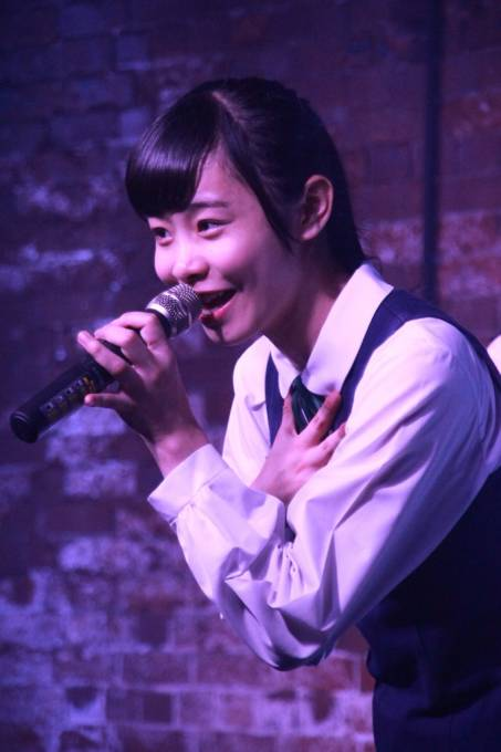 神戸煉瓦倉庫K-wave SSS Live vol.2 KOBerrieS♪ ひめ! #KOBerrieS #大出姫花 #SSS #K_wave https://t.co/rshkPVajk8