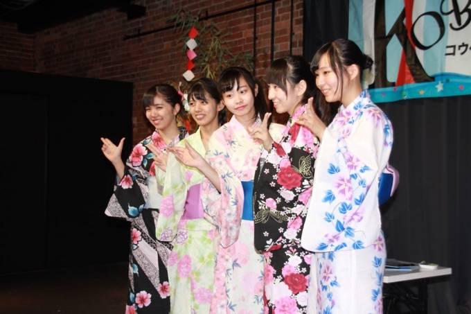 神戸煉瓦倉庫K-wave SSS Live vol.2KOBerrieS♪浴衣姿で集合写真! #KOBerrieS #SSS #K_wave https://t.co/MAWivh7Uxl